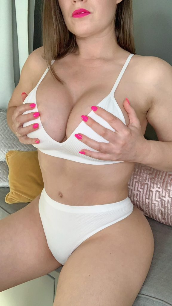 OneBadWife white bikini